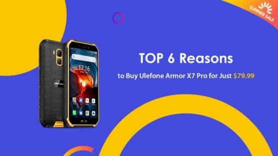 Ulefone Armor X7 Pro reasons to buy