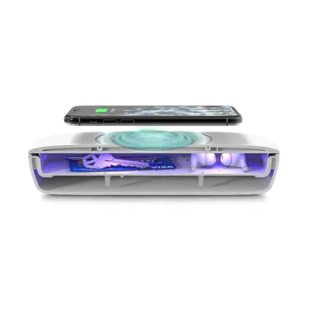 ZAGG Brands mophie UV Sanitizer pressers 02