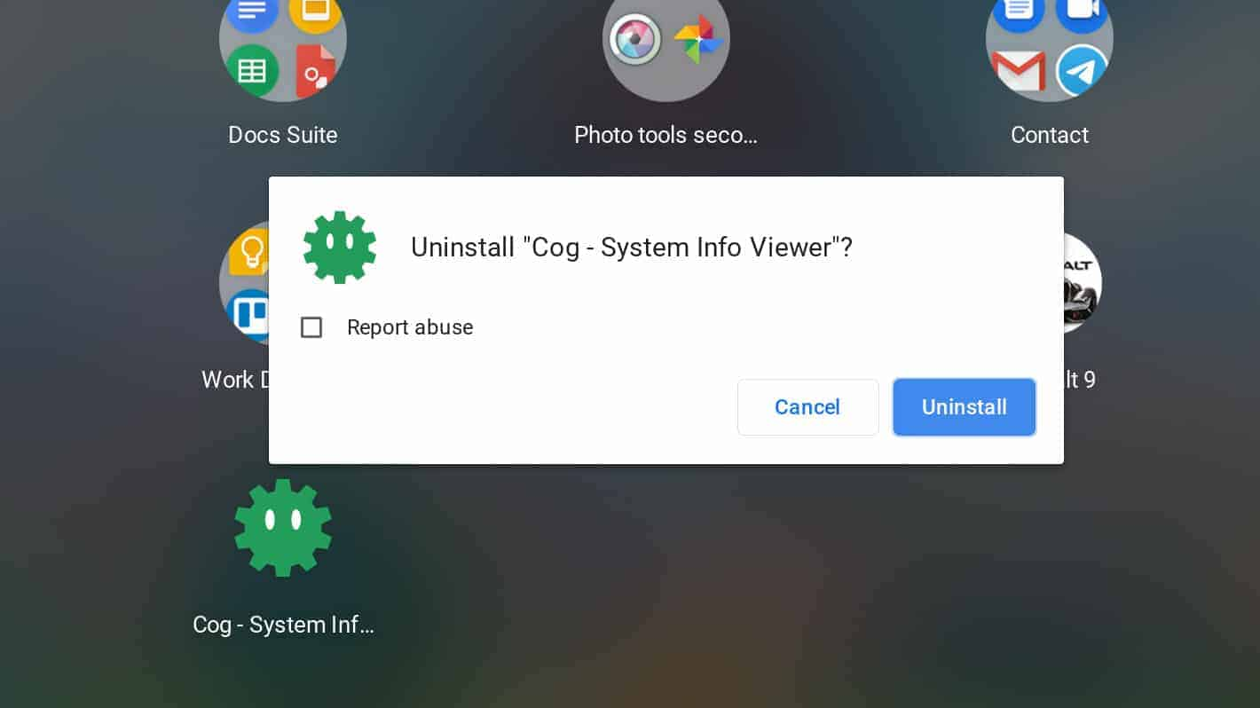 how to Chromebook resources uninstall 03