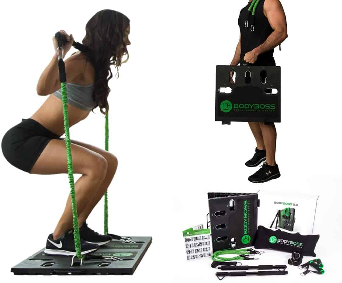BodyBoss 2.0 - Full Portable Home Gym Workout Package + Resistance Bands (Amazon)
