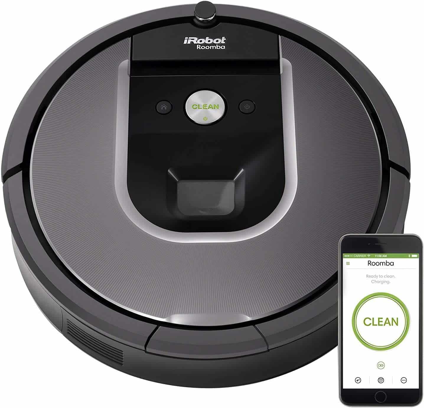 (Renewed) iRobot Roomba 960 Robot Vacuum - Amazon