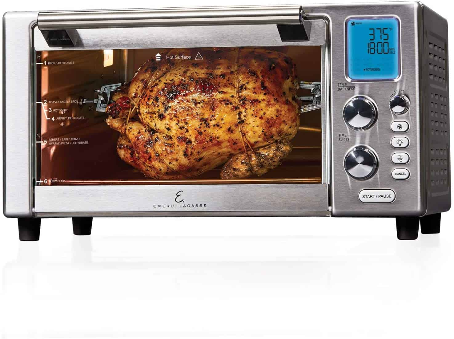 Save on Emeril Everyday Air Fryer Oven and Pressure Air Fryer - Amazon