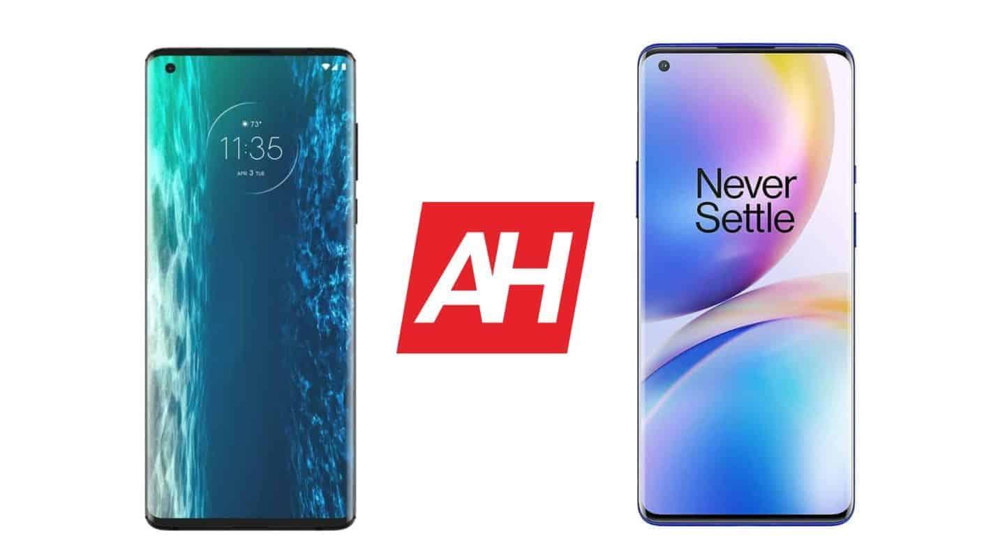 AH Motorola Edge Plus vs OnePlus 8 Pro comparison 2 1