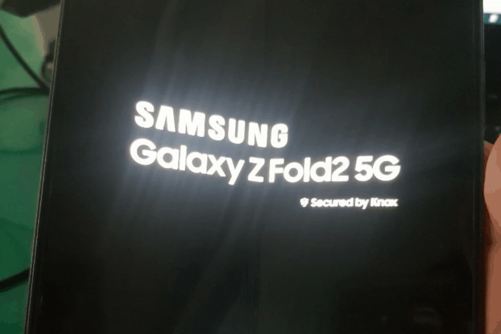 Check out the one and only Samsung Galaxy Z Fold 2 5G in the flesh