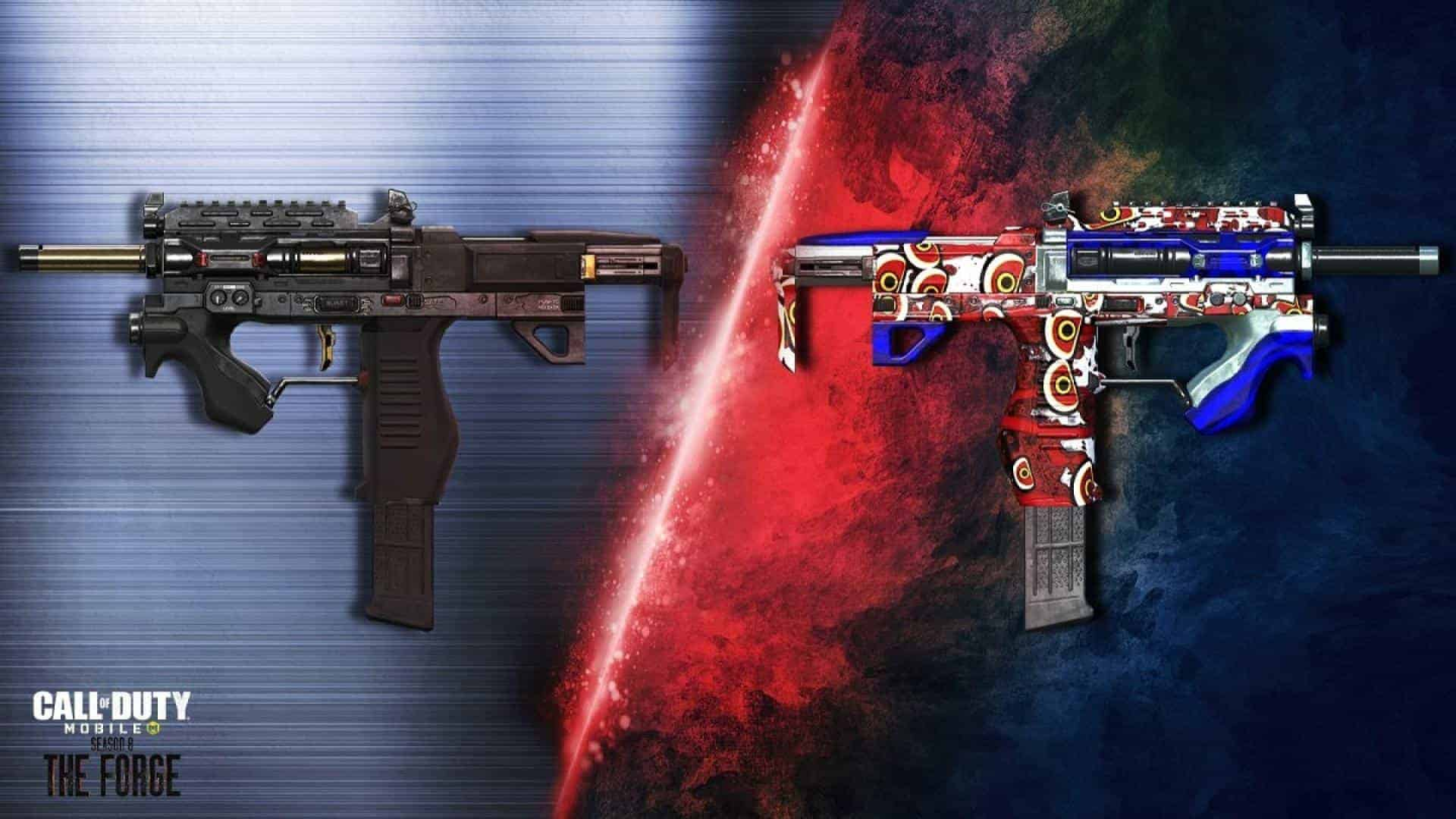 CoD Mobile Season 8 new weapons 01