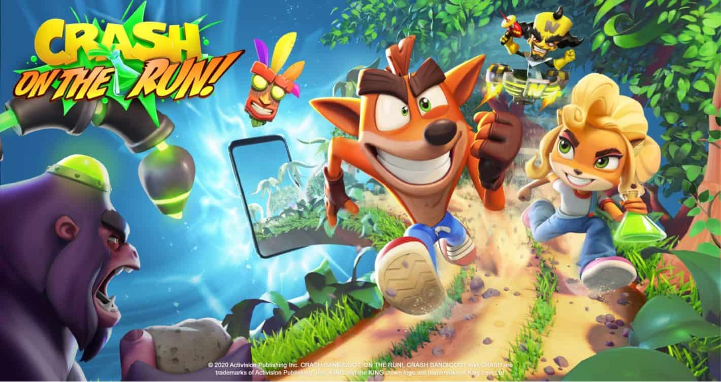 Crash Bandicoot's endless runner promises