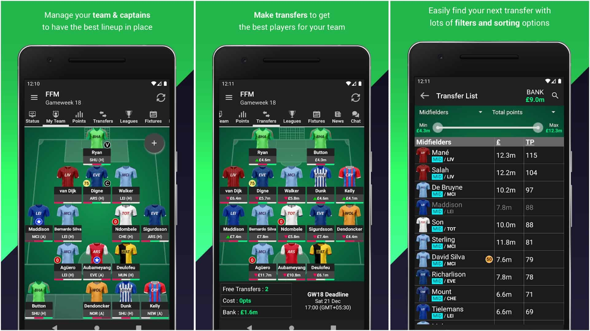 Fantasy Football Manager for Premier League FPL app image July 2020