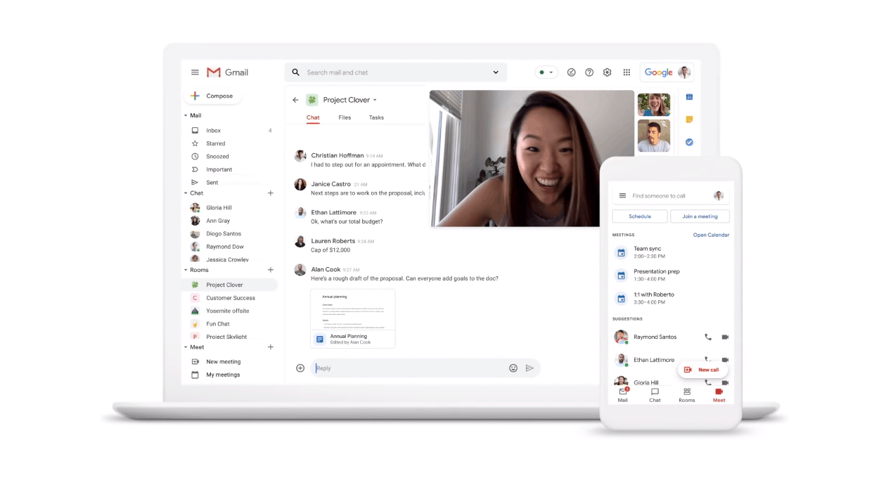 G Suite New Home For Work