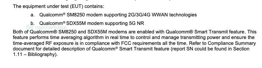 Galaxy Note 20 Ultra FCC image 1