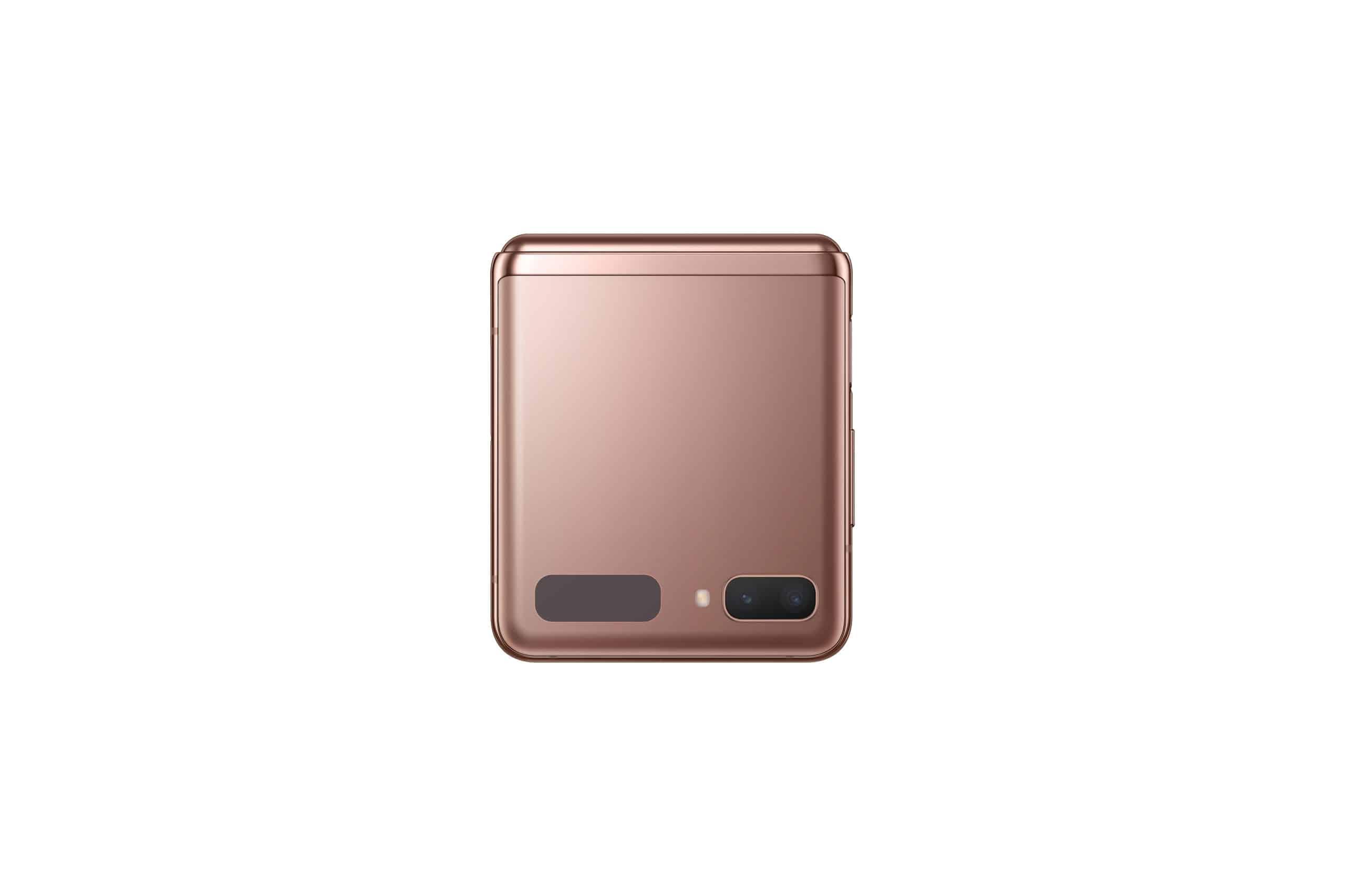 Galaxy Z Flip 5G Mystic Bronze Back Closed