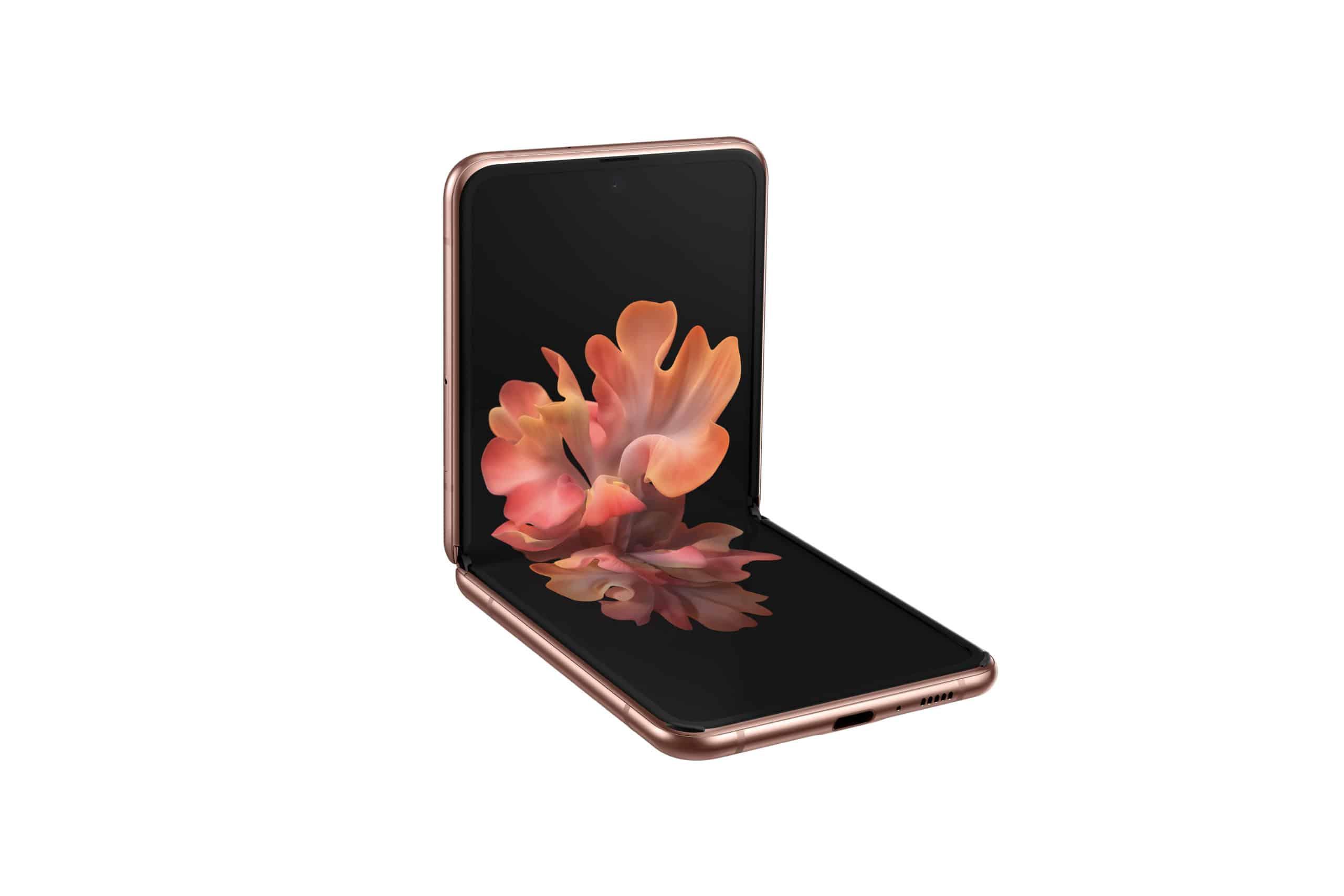 Galaxy Z Flip 5G Mystic Bronze Front