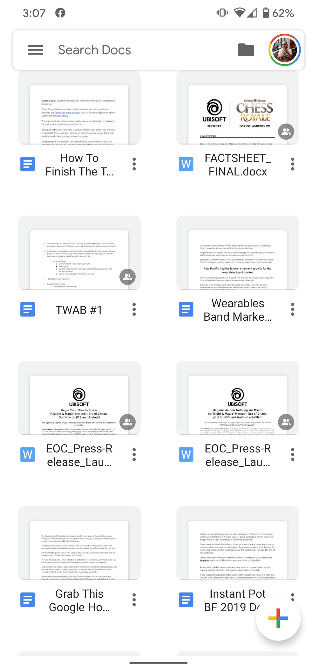 Google Docs Dark Mode 1