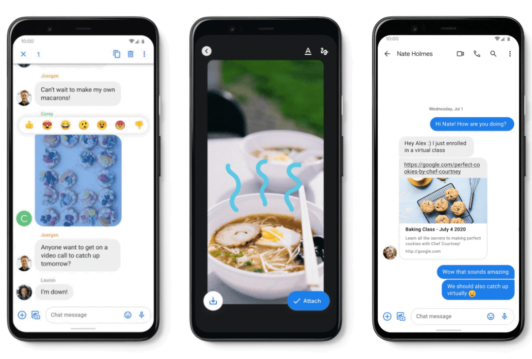 Google Messages continues to get better and better…