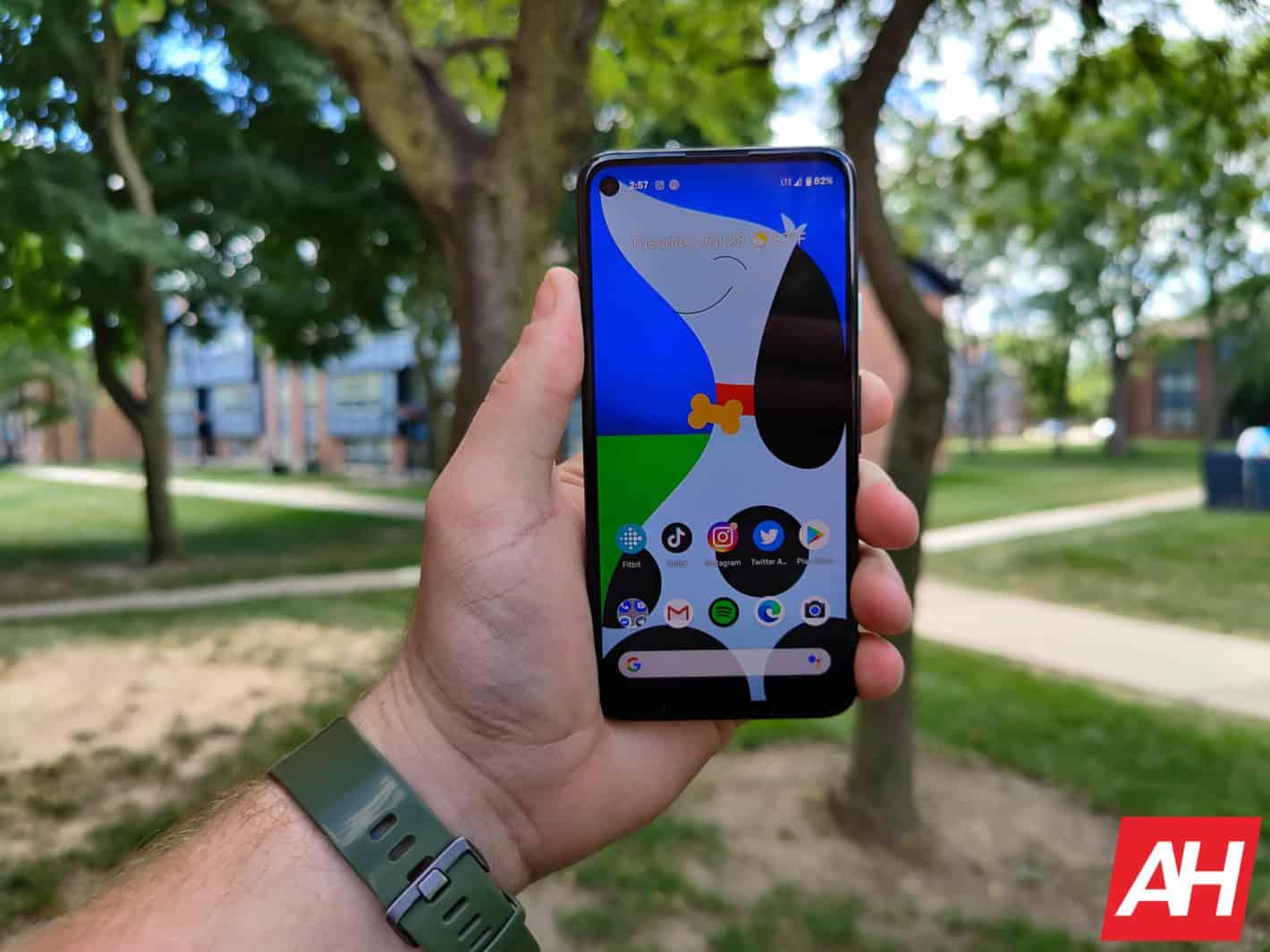 Google Pixel 4a Review AM AH 16