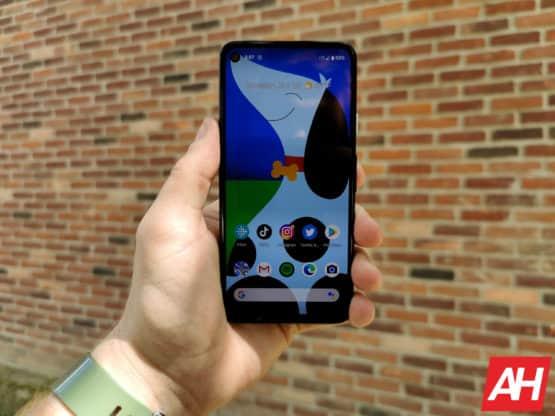 Google Pixel 4a Review AM AH 17