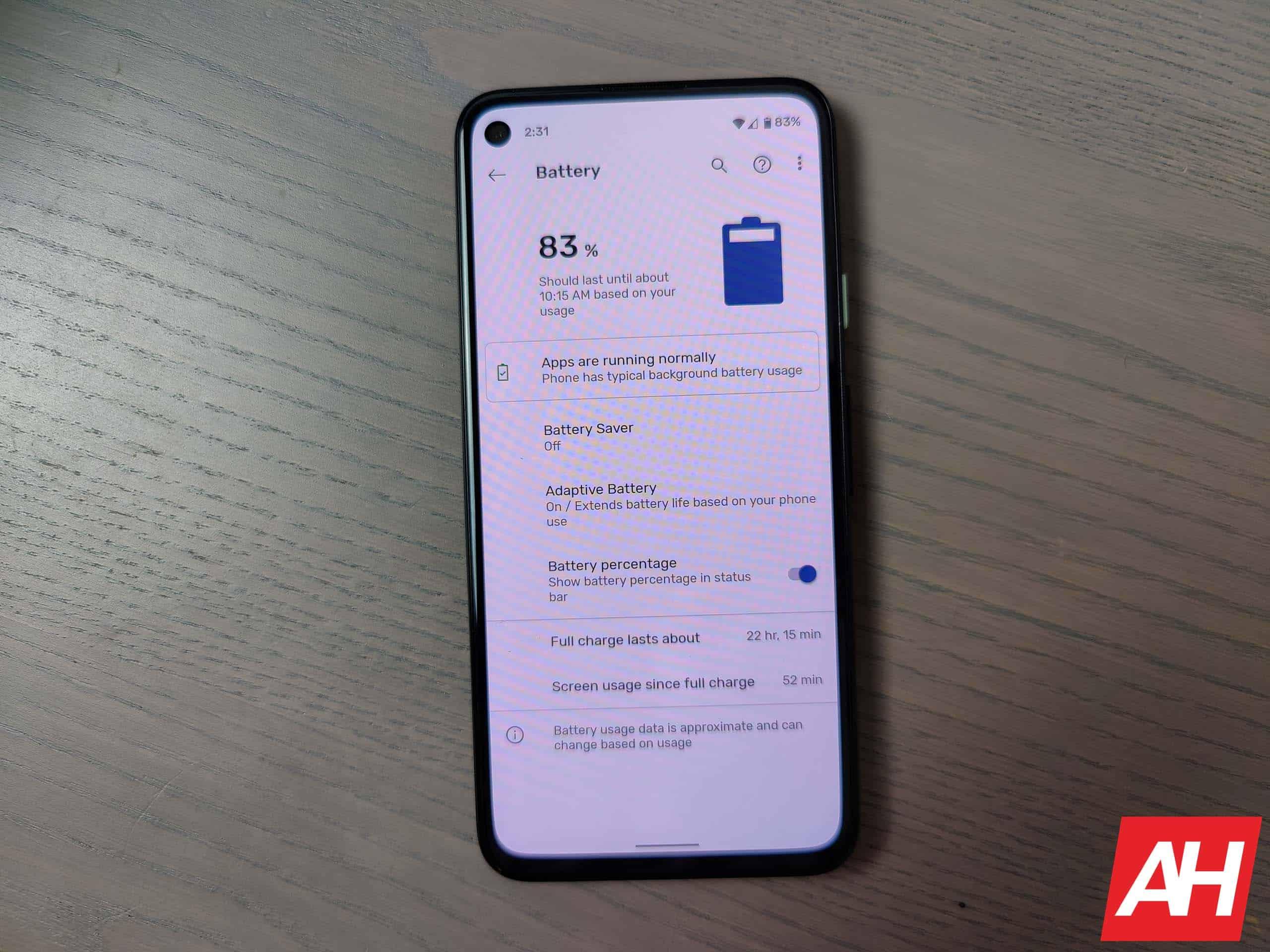 Google Pixel 4a Review AM AH 8