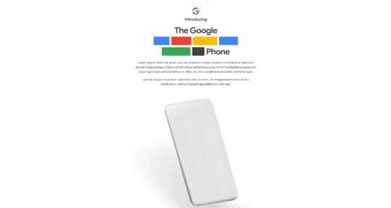Google Pixel 4a Tease