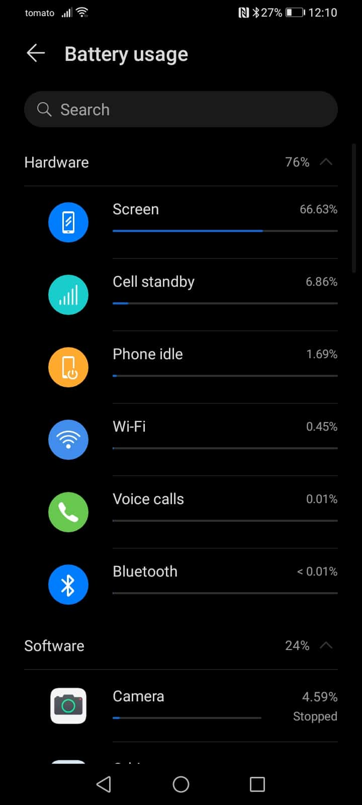 HONOR 9A battery life day two sample 3