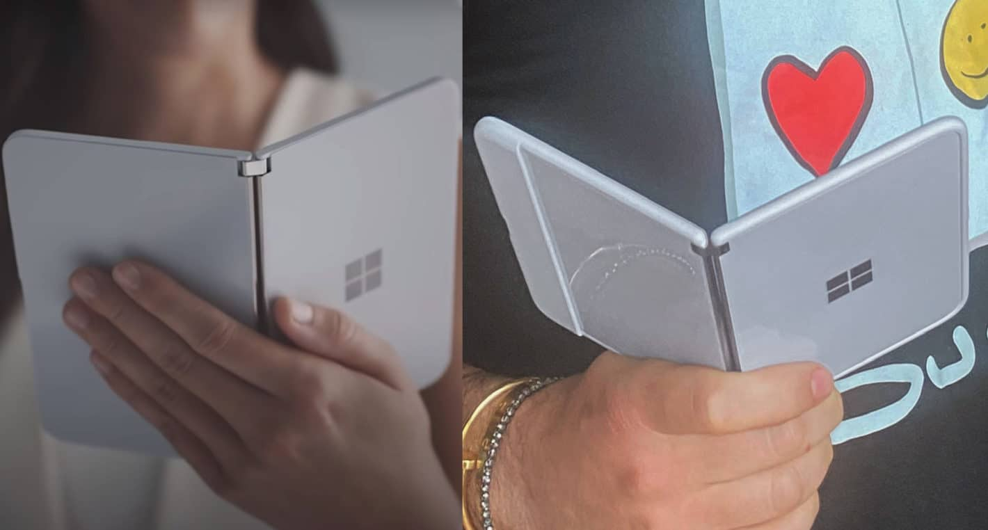 Microsoft Surface Duo Trailer Vs CPO Tweet Protective Case