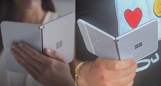 Microsoft Surface Duo Trailer Vs CPO Tweet Protective Case