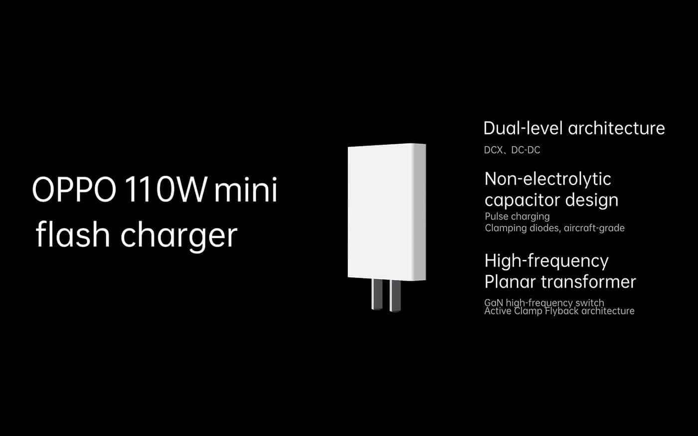 OPPO 110W Mini flash charger charger image 2