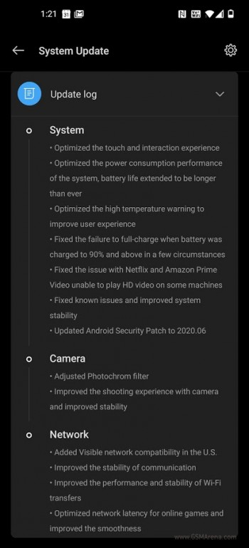 OnePlus 8 Pro update the US