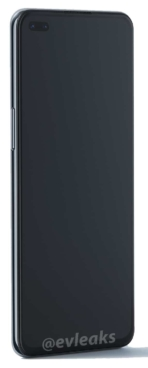 OnePlus Nord render leak front