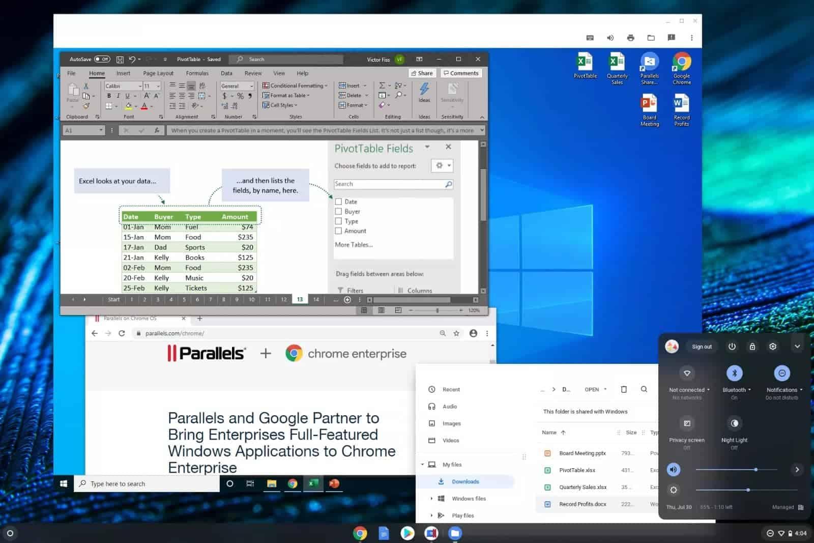 Parallels Desktop for Chrome Enterprise