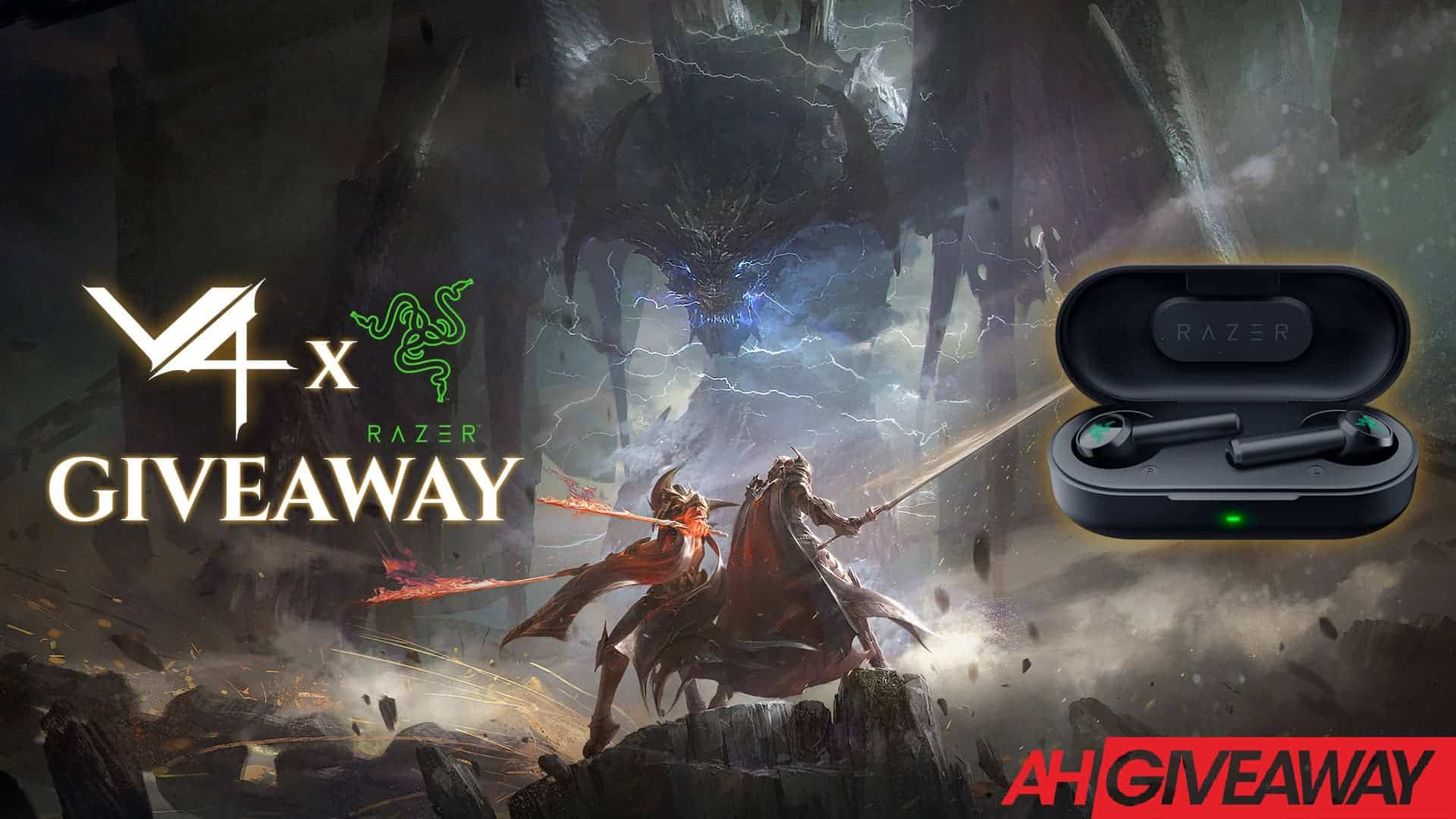 Razer Hammerhead True Wireless Giveaway - Free Razer Earbuds