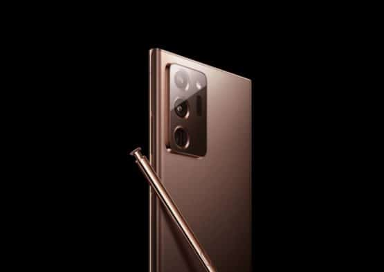 Samsung Galaxy Note 20 Mystic Bronze render leak