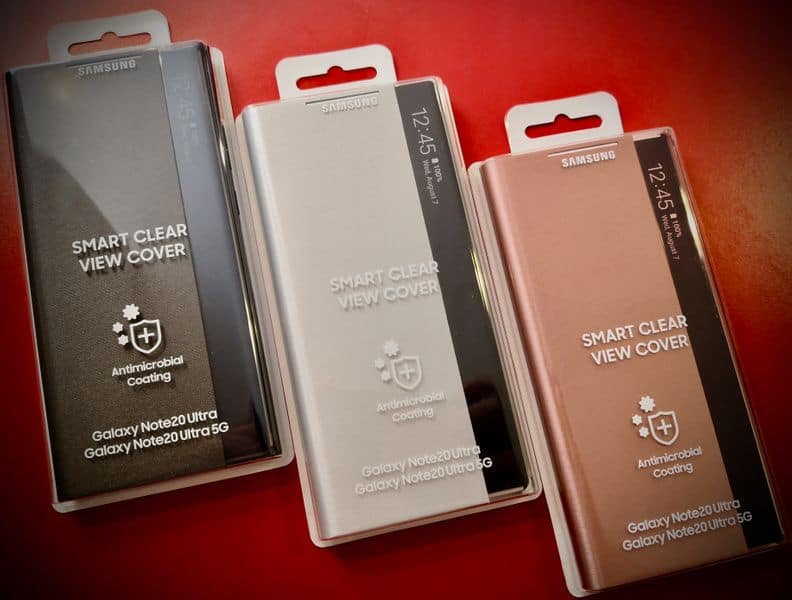 Samsung Galaxy Note 20 Ultra Smart Clear View Covers