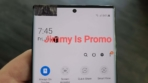 Samsung Galaxy Note 20 Ultra real life image leak 1