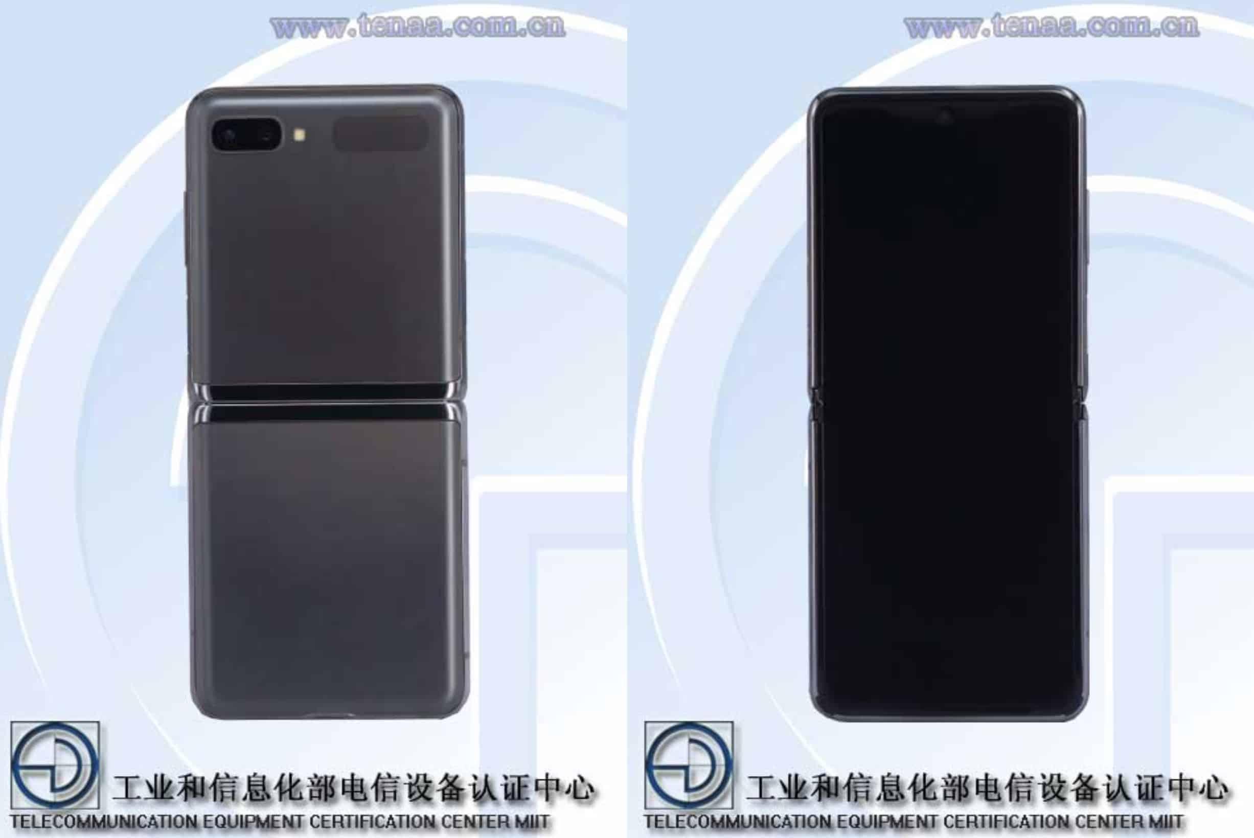 Samsung Galaxy Z Flip 5G TENAA image 1