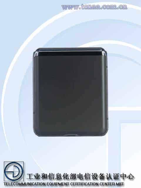 Samsung Galaxy Z Flip 5G TENAA image 3