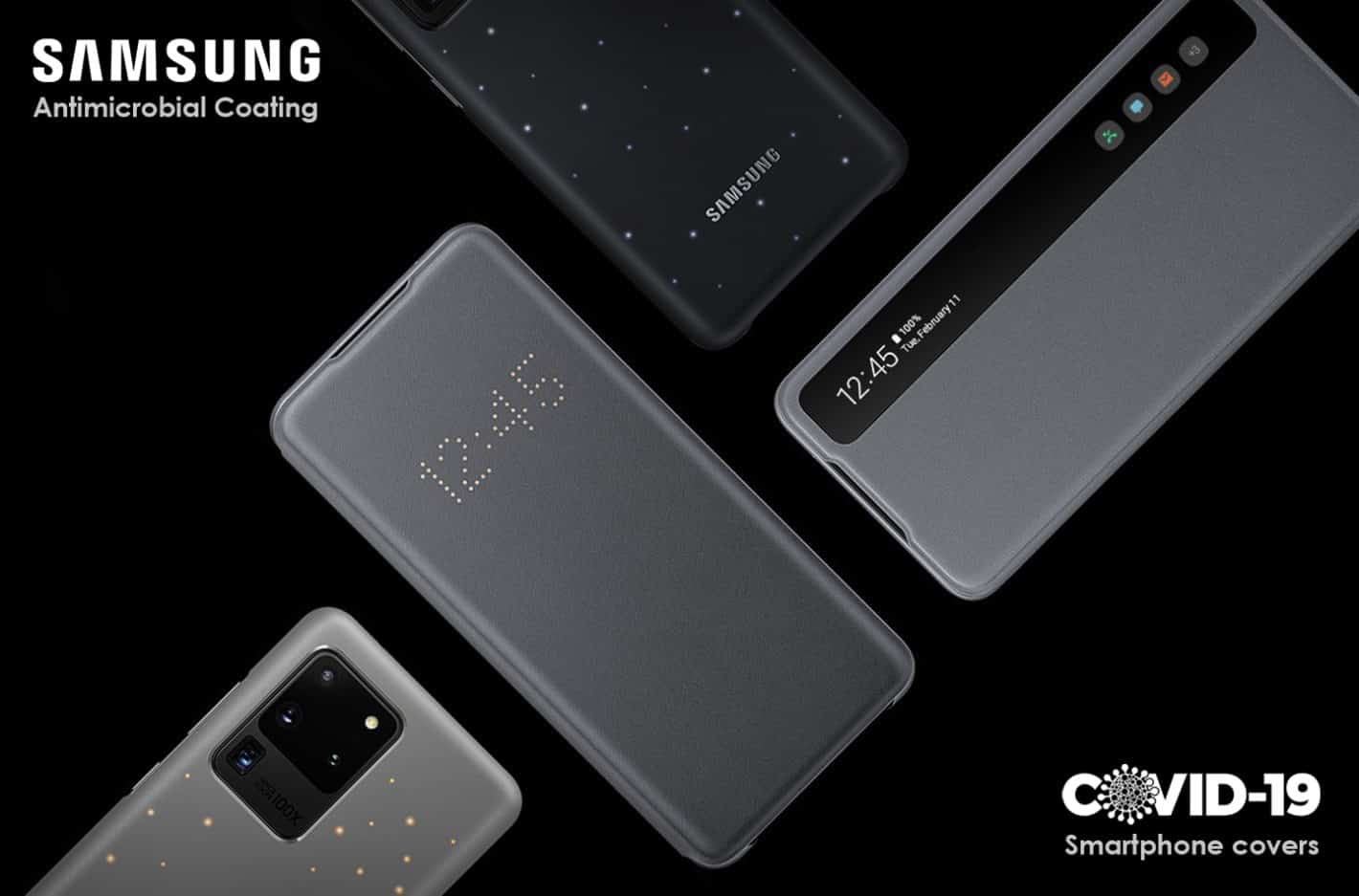 Samsung antimicrobial coating cases patent