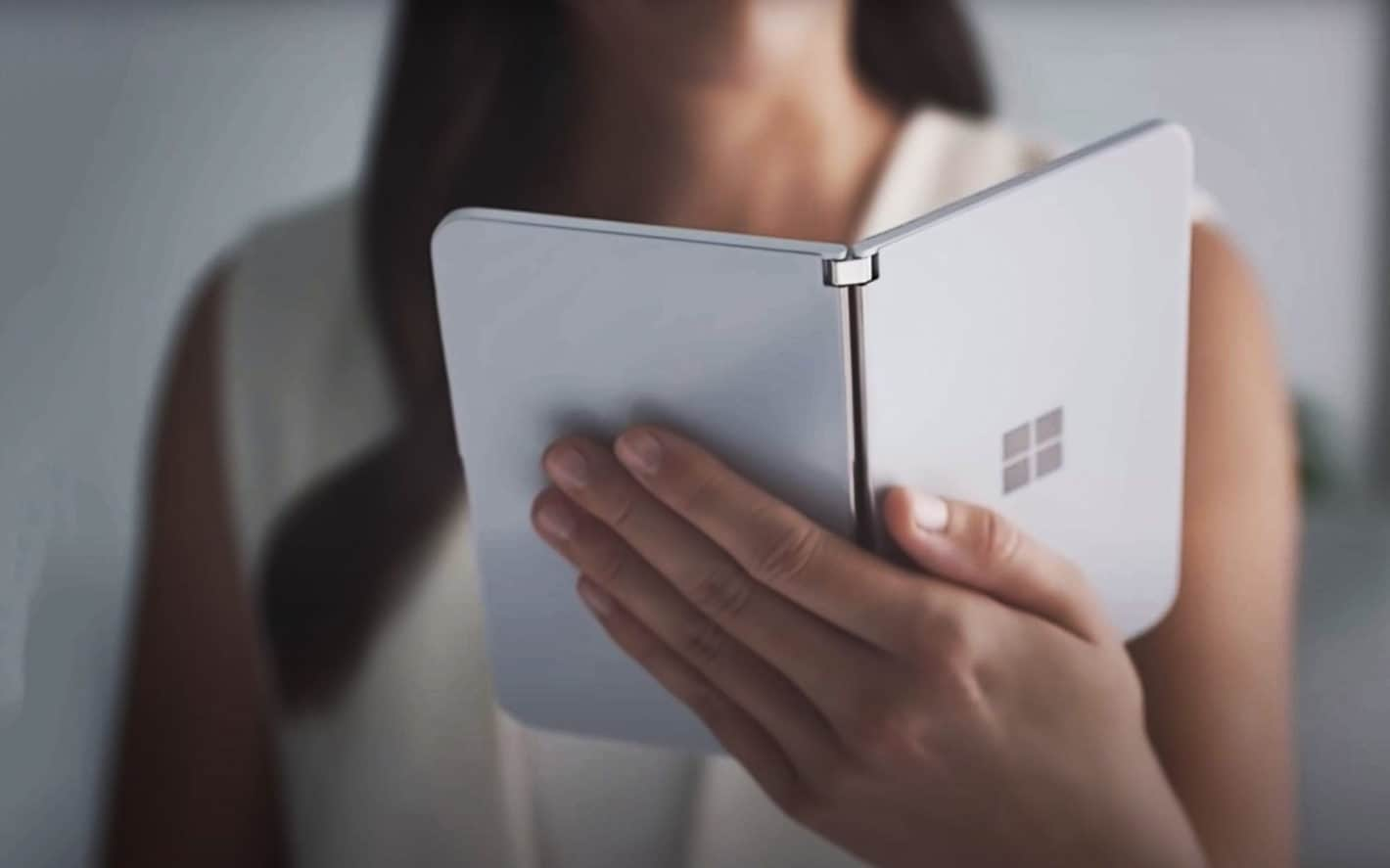 Surface Duo Announcement Trailer Screenshot