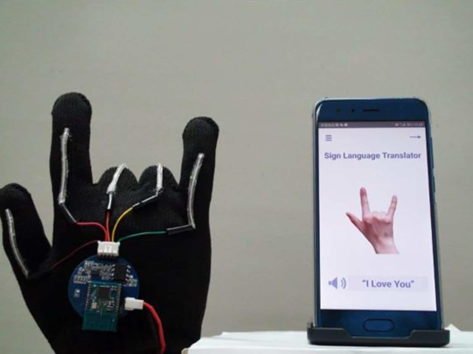 UCLA ASL sign language translating gloves