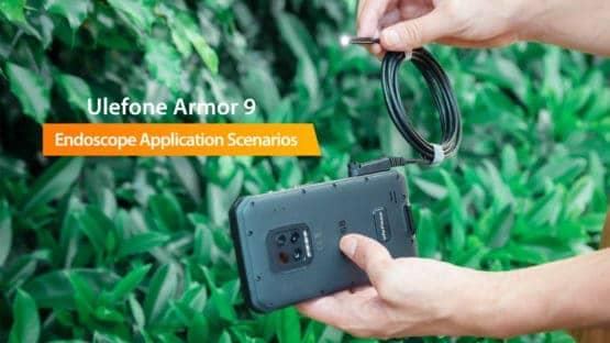 Ulefone Armor 9 endoscope