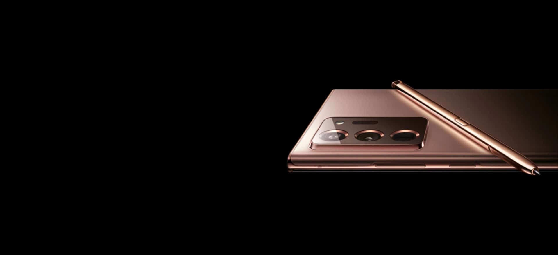 galaxy note 20 ultra mystic bronze 2