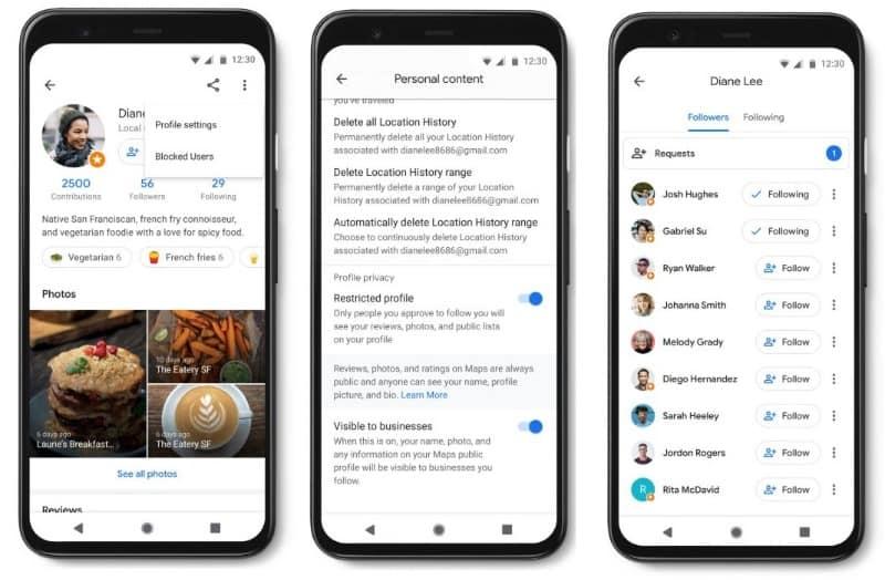 google profile community update