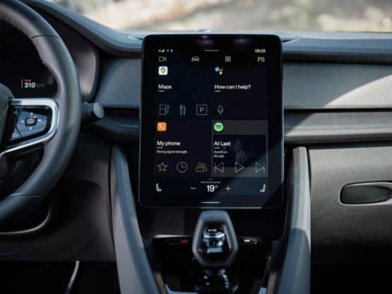 polestar 2 android automotive from volvo polestar