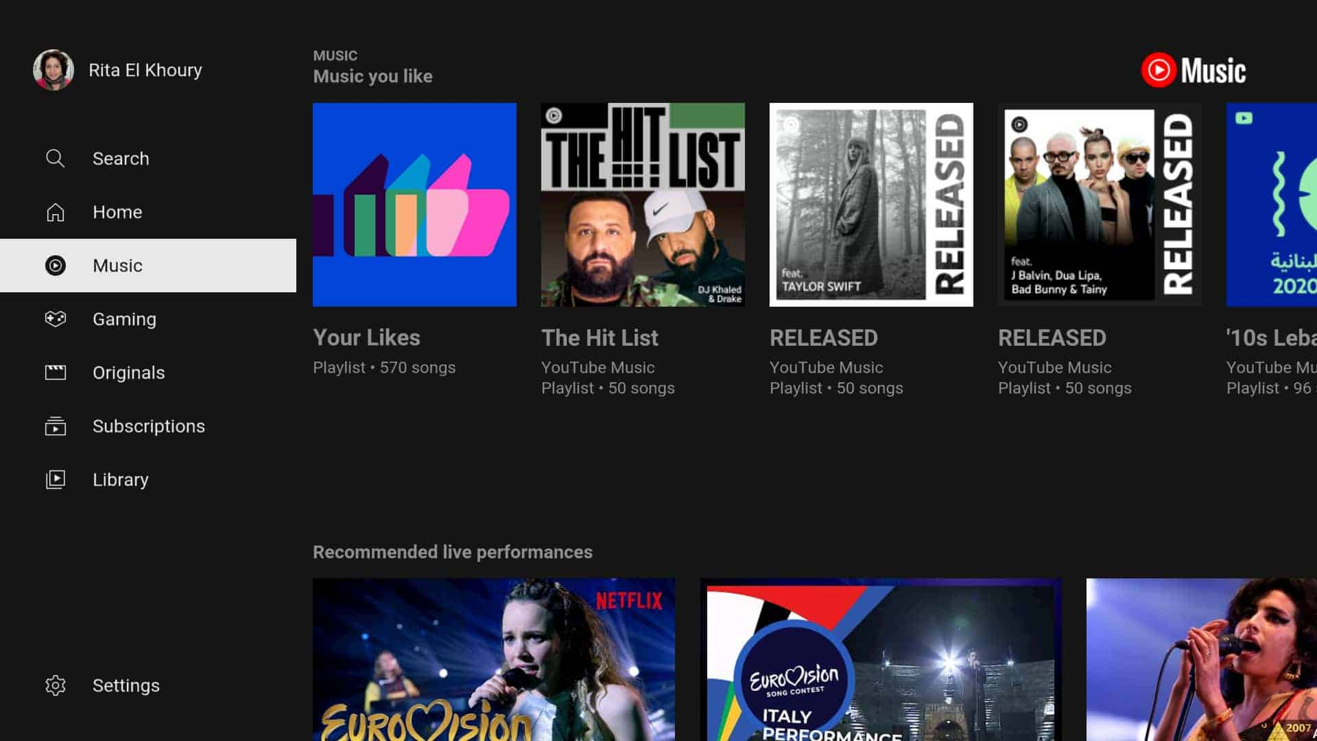 youtube music android tv 1 from Android Police