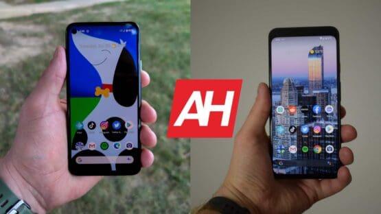 AH Google Pixel 4a vs Google Pixel 4 XL comparison