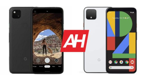 AH Google Pixel 4a vs Google Pixel 4 comparison