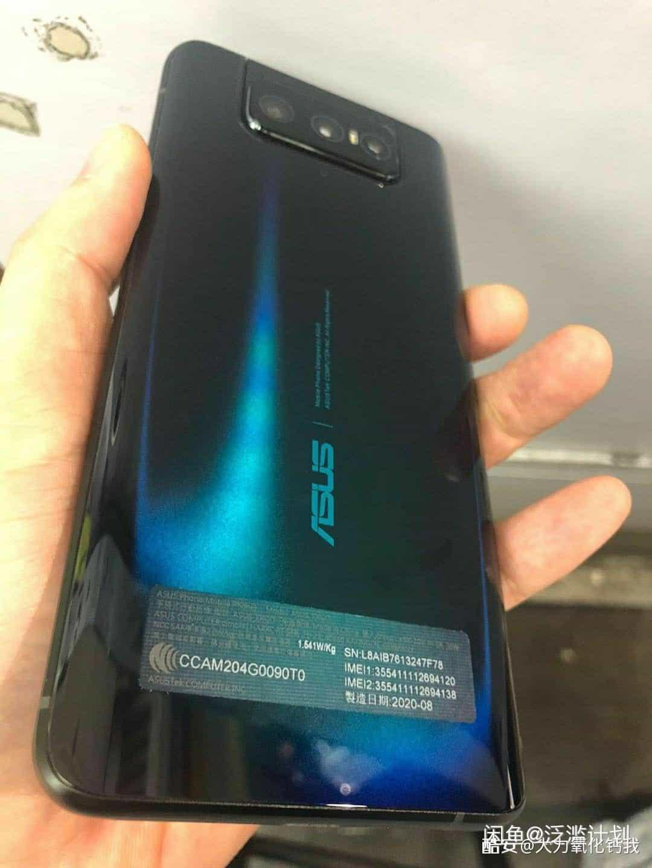 ASUS ZenFone 7 design leak 2
