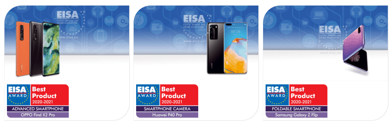 EISA Awards 2020 2021