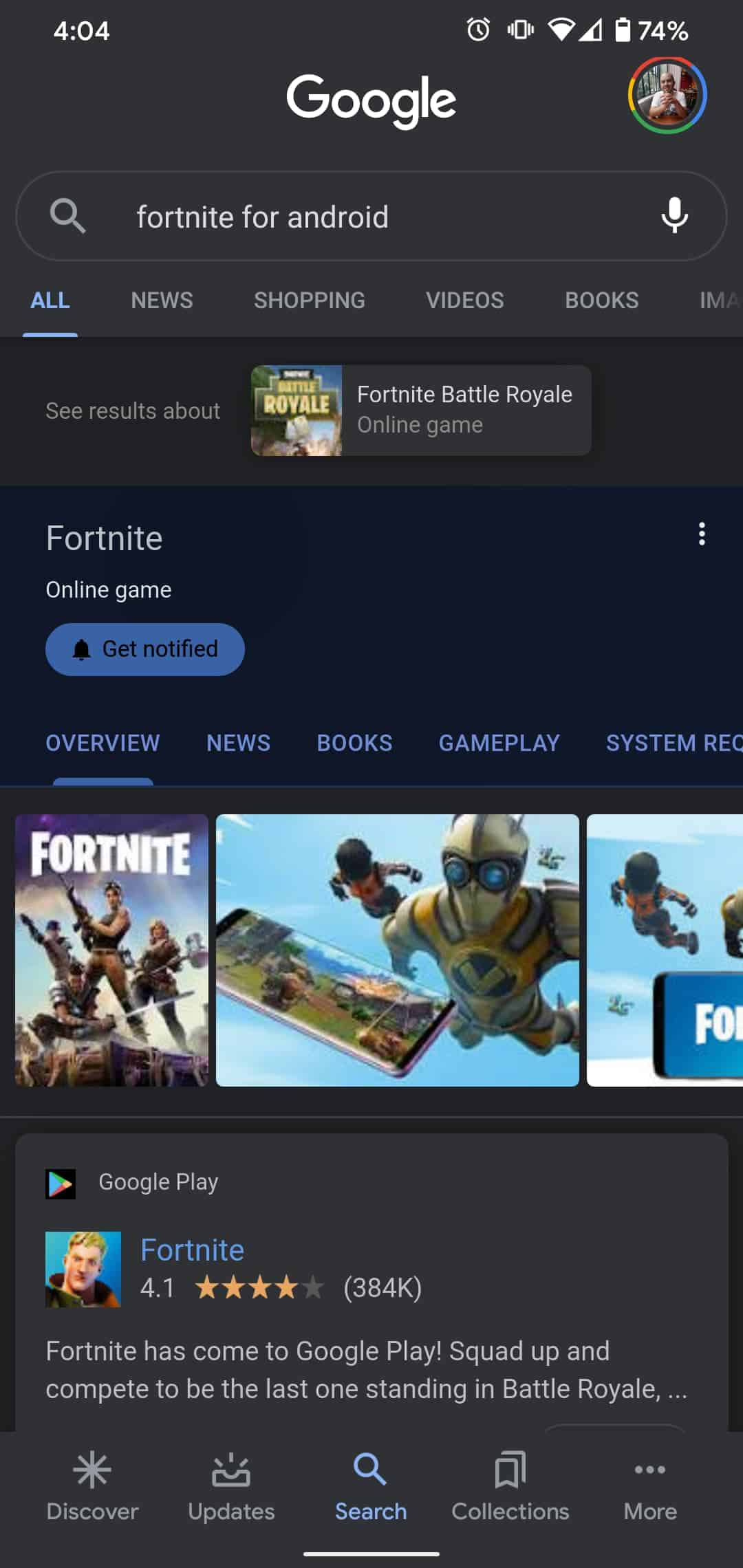Fortnite For Android 3