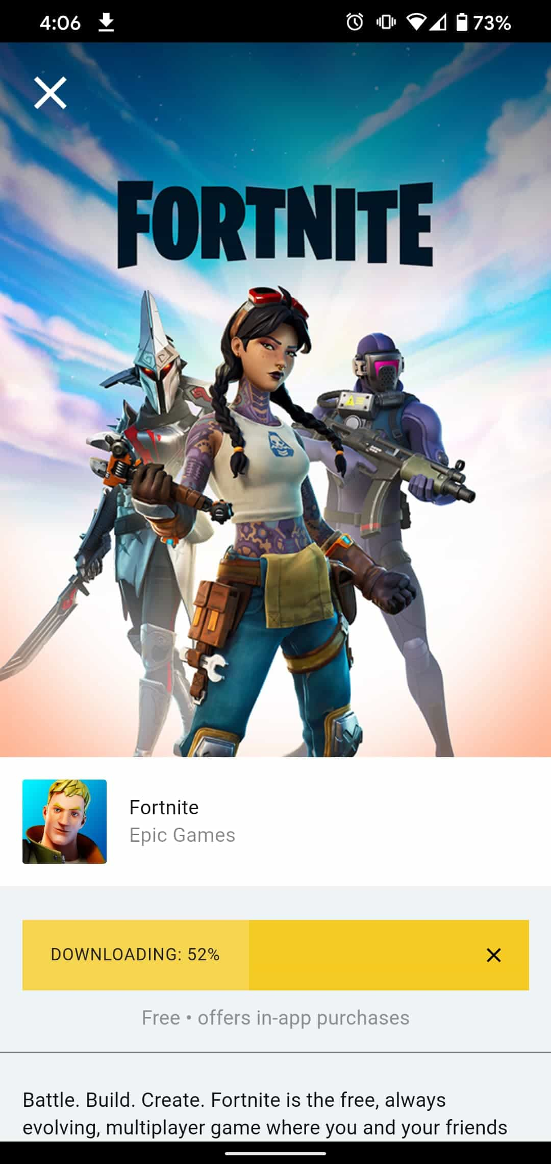 Fortnite For Android 5