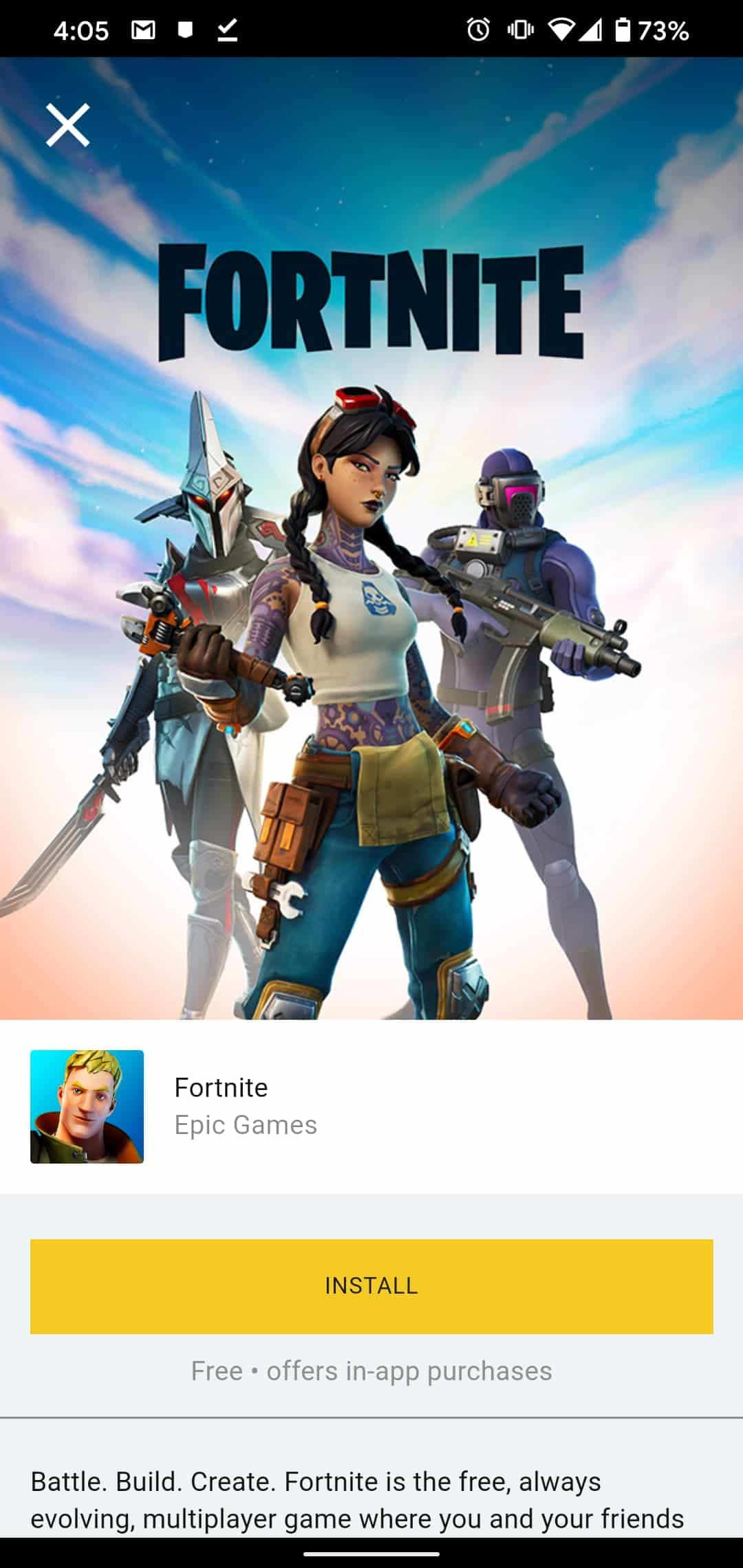 Fortnite For Android 6