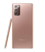 Galaxy Note20 Mystic Bronze_Back with S Pen